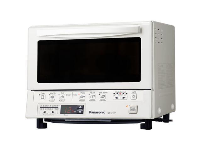 Panasonic Nb G110pw Flashxpress Toaster Oven With Double