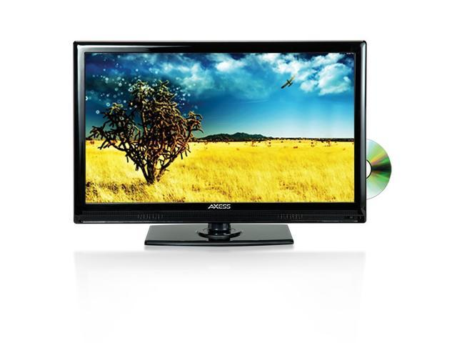 """Axess TVD1801-13 13.3"""" LED AC/DC TV with DVD Player Brand New TVD-1801"""