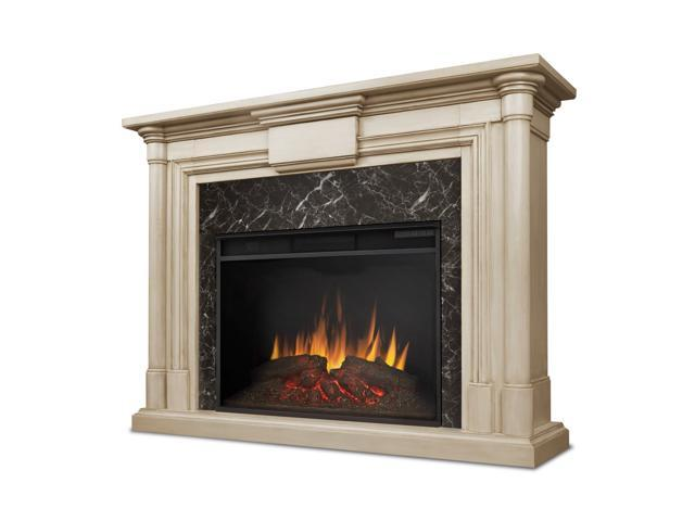 Real Flame Maxwell Grand Electric Fireplace in Whitewash - Newegg.com