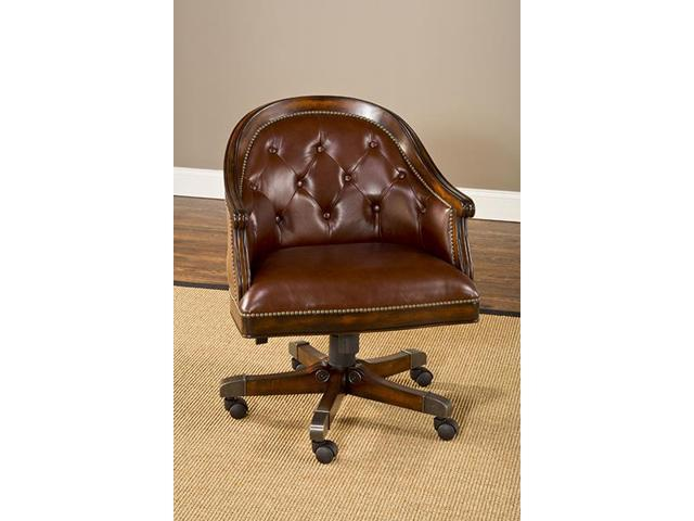 Hillsdale Furniture Harding Game Chair in Rich Cherry - 6234-801