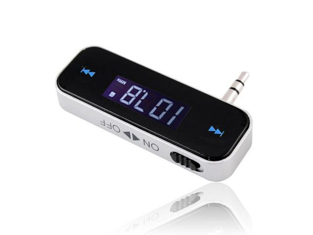3.5mm In Car Wireless Fm Transmitter Player for iPhone 3 4S 5 3G iPod Touch Galaxy
