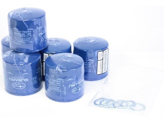 Subaru Impreza WRX STi OEM Oil Filters and Crush Washers