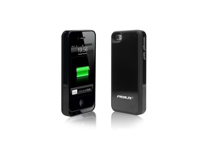 Prolix Power iPhone 4/4S External Battery Case - Fits all versions of iPhone 4 - (Black)