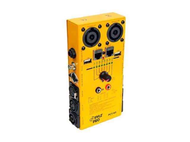 12-Plug Pro Audio Cable Tester