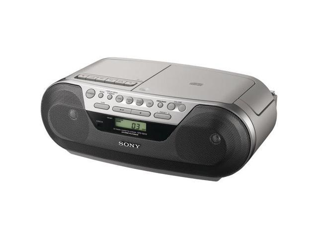 SONY CFDS05 CD Radio Cassette Recorder with Audio Input Jack for DMP