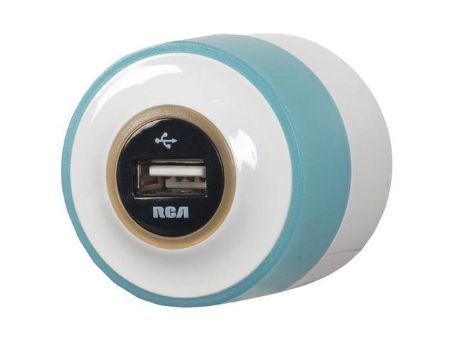 RCA USBNLTR USB Charger with Night Glow