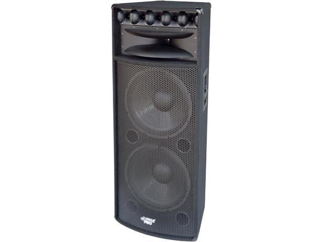 "15"" 1600-Watt Heavy Duty PA Speaker With MDF Construction With Reinforced Corners"