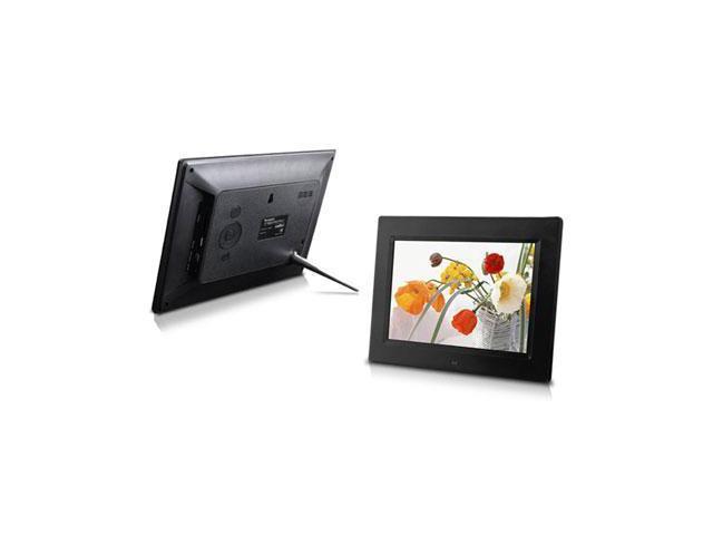 8-Inch Digital Photo Frame, multimedia player, 5 star product (Black ...