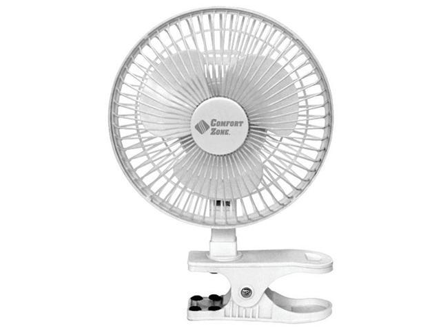 Comfort Zone Box Fan : Comfort zone cz c quot clip on fan newegg