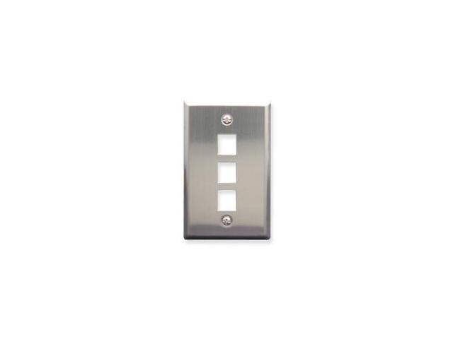 IC107SF3SS - 3Port Face Stainless Steel - ICC-FACE-3-SS