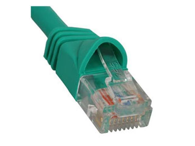 PATCH CORD, CAT 5e, MOLDED BOOT, 5' GN - ICC-ICPCSJ05GN