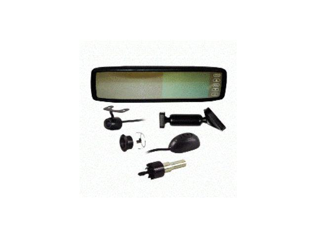 "Metra TE-RVMCBT Replacement Rear View Mirror w/ 4.3"" Color LCD Screen and Bluetooth TERVMCBT"