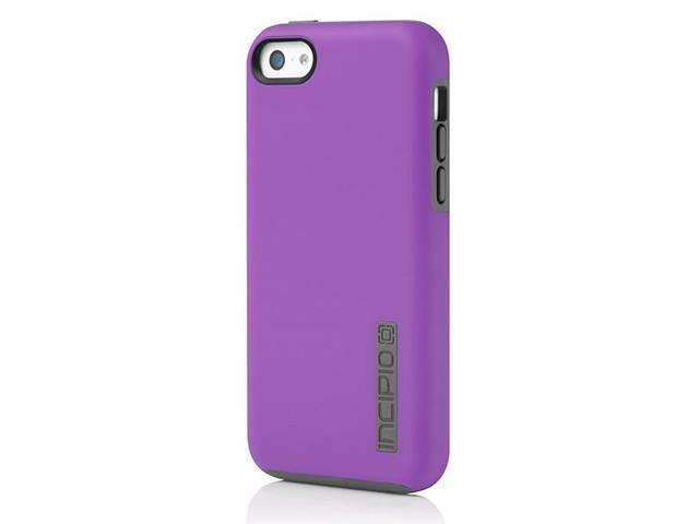 Incipio iPhone 5C Dual PRO Case - Purple / Grey