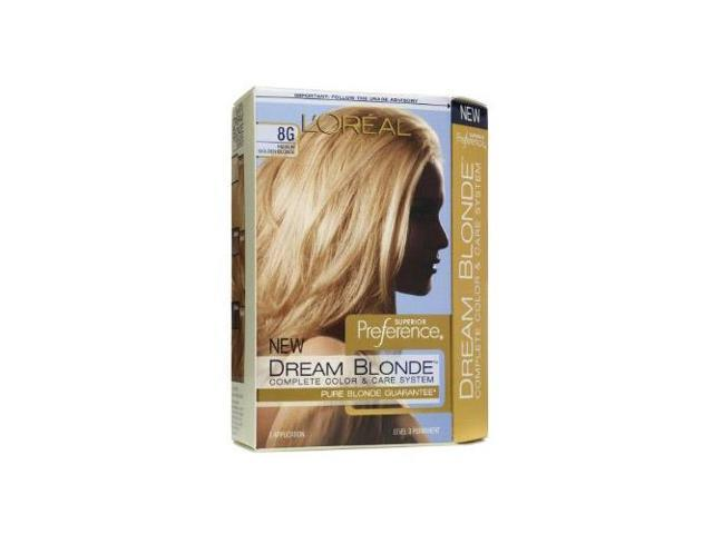loreal superior preference dream blonde hair color 8g