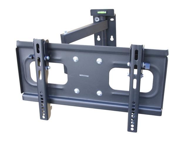 mount it adjustable extended arm tilt and swivel lcd led hdtv plasma tv wall mount up to vesa. Black Bedroom Furniture Sets. Home Design Ideas