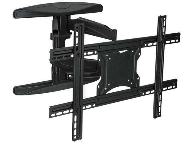 mount it swivel adjustable wall mount corner bracket for 32 60 inch screen lcd led plasma 3d. Black Bedroom Furniture Sets. Home Design Ideas
