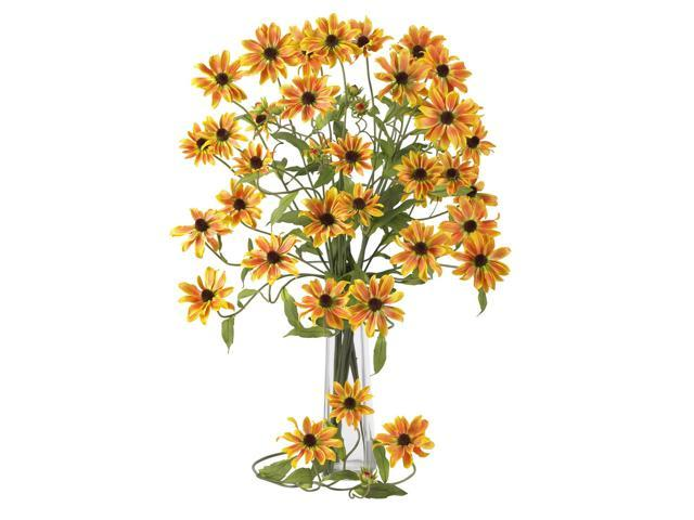 """Nearly Natural 2125-YL  Yellow 28.5"""" Cosmo Stem (Set of 12)"""