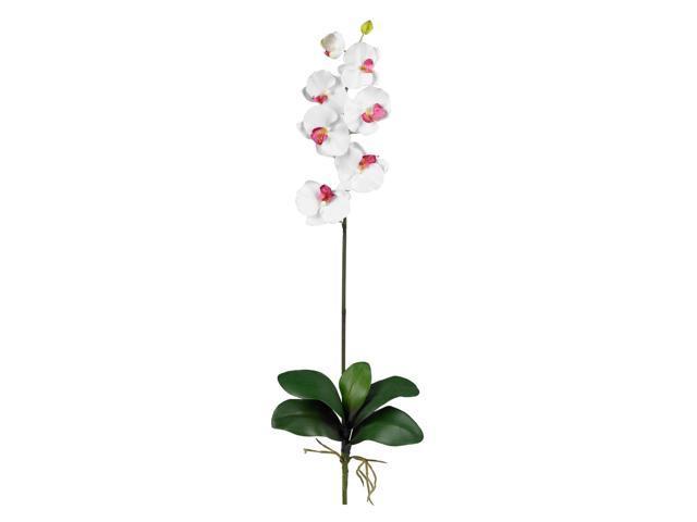 Nearly Natural 2044-WH-12 White Phalaenopsis Stem (Set of 12)