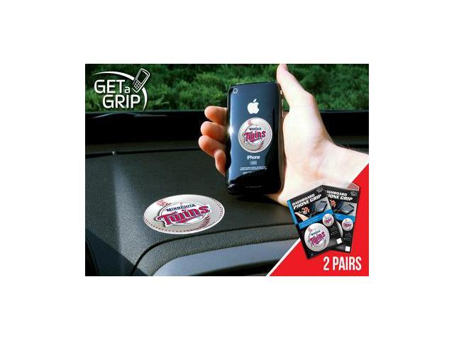 Fanmats 13089 MLB - Minnesota Twins Get a Grip 2 Pack - Small 1.5 in., Large 3 in.