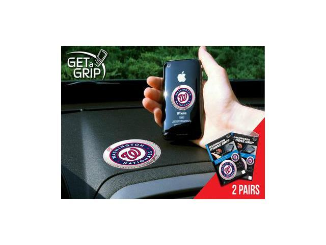 Fanmats 13076 MLB - Washington Nationals Get a Grip 2 Pack - Small 1.5 in., Large 3 in.