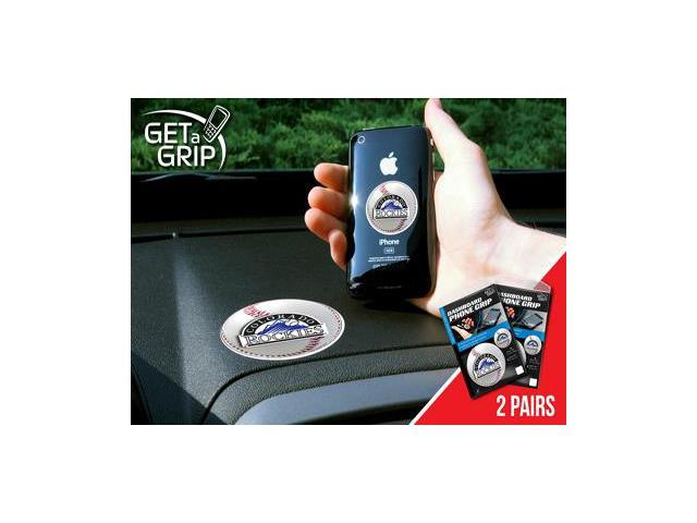 Fanmats 13097 MLB - Colorado Rockies Get a Grip 2 Pack