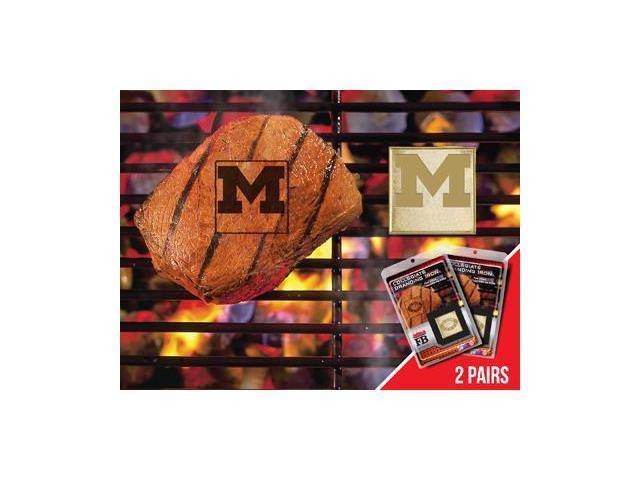 Fanmats 13150 University of Michigan  Fanbrand 2 Pack