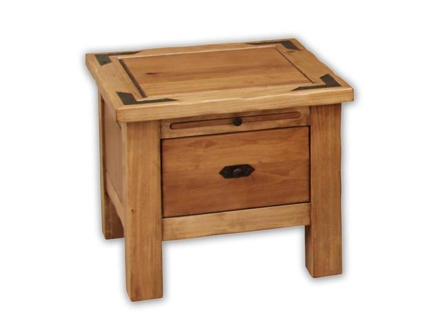 Artisan Home Lodge 100 1 Drawer Square End Table - Newegg.com