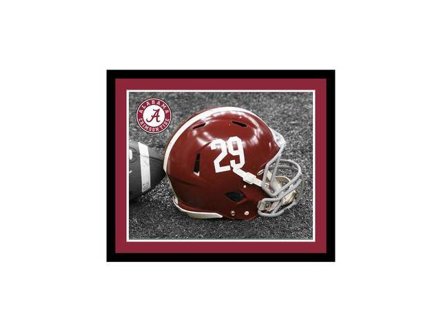 Replay Photos Alabama Crimson Tide Framed Alabama Helmet Art - 16 x 19