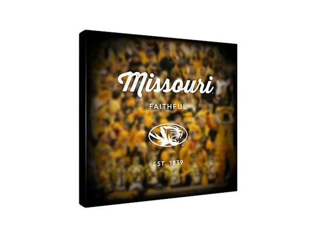Replay Photos Gallery Wrapped Canvas of Missouri Logo Art