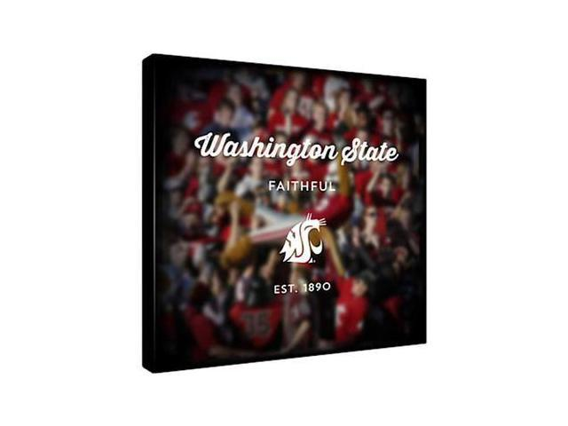 Replay Photos Gallery Wrapped Canvas of Washington State Logo Art
