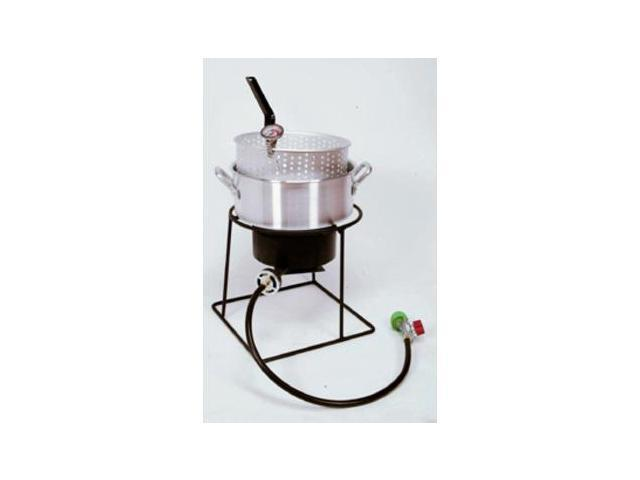 King Kooker 12 inch Outdoor Cooker Package with Aluminum Fry Pan