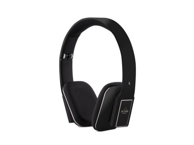 iDeaUSA's AtomicX HP001BT-B Bluetooth Headphone w/ Mic (Black)