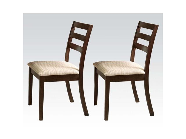 dining side chairs in walnut 2 piece side chairs dining room chair