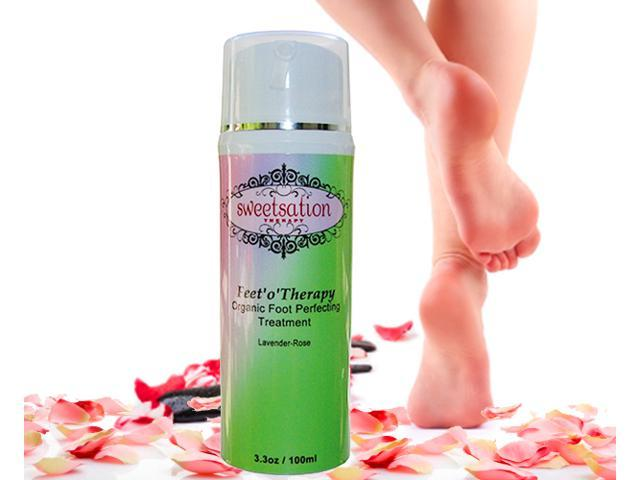 Feet'o'Therapy Organic Foot perfecting treatment, 3.3oz NEW