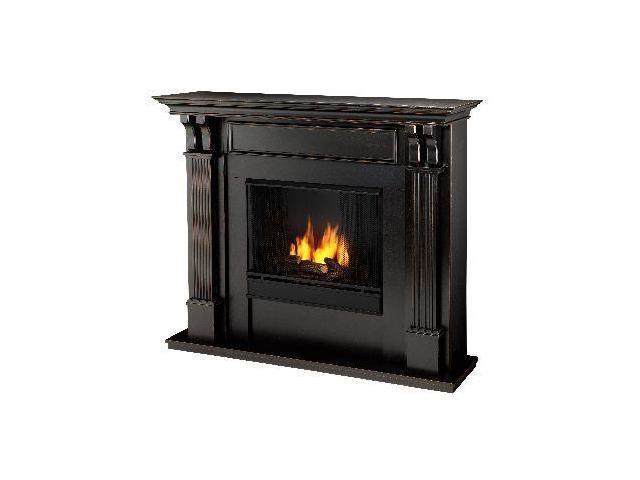 Ashely Gel Fuel Black Wash Fireplace