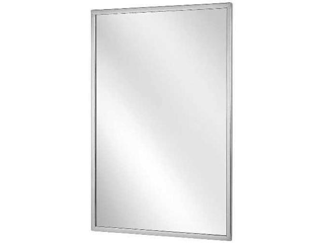 Bradley channel frame mirror 18 x 36 for Bradley mirror