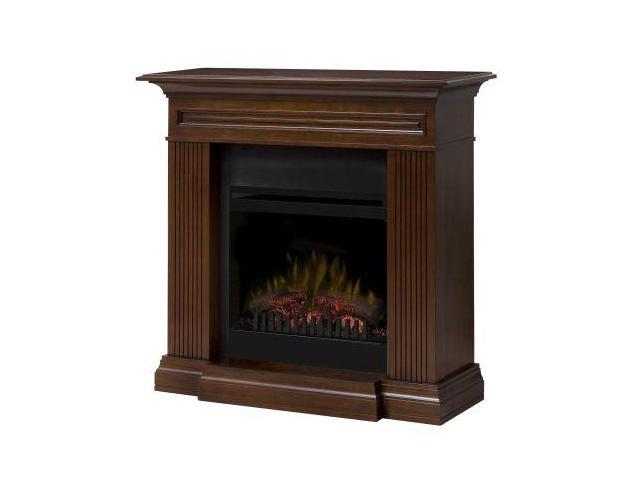 branagan fireplace traditional mantel with faux log insert