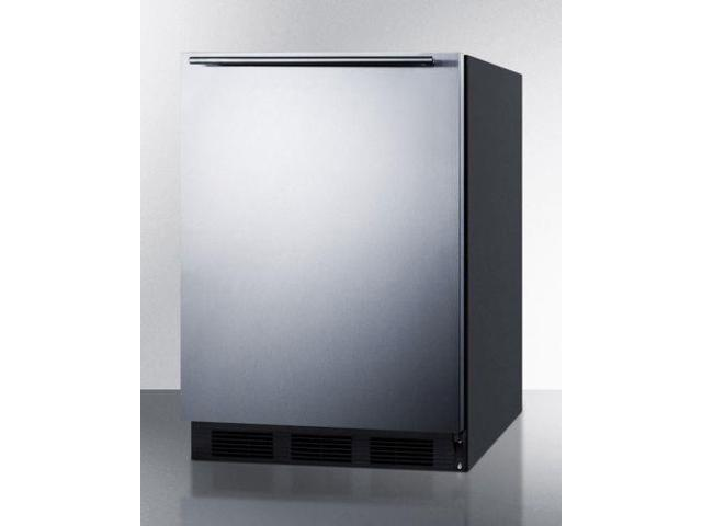 Freestanding Residential Use Refrigerator-Freezer - Stainless Steel