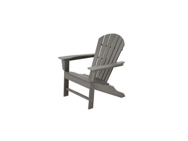 POLYWOOD South Beach Adirondack in Slate Grey