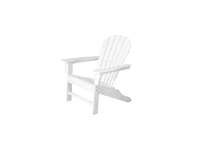 POLYWOOD South Beach Adirondack in White