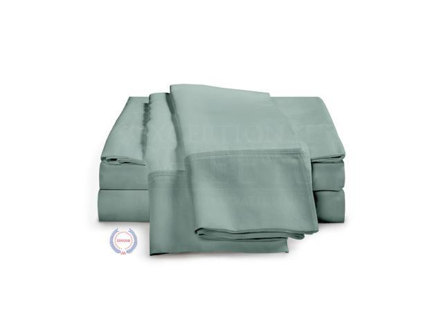1200 Thread Count - Egyptian Cotton Sheet Set by ExceptionalSheets, Cal King, Teal