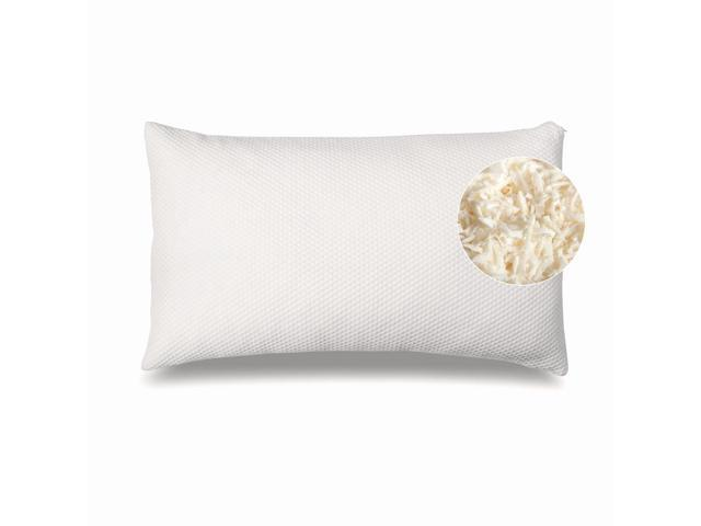 side and stomach sleeper pillow by 100 shredded side stomach sleeper pillow