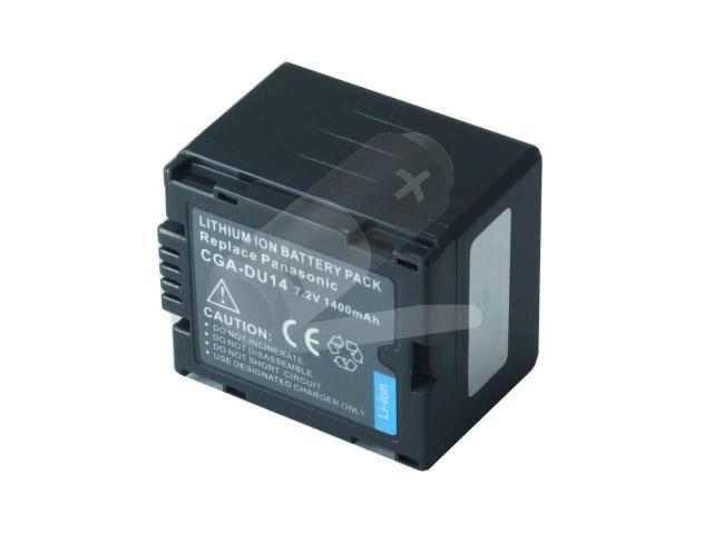 Battpit: Camcorder Battery Replacement for Hitachi DZ-MV780A (1500 mAh) CGA-DU14 7.2 Volt Li-ion Camcorder Battery