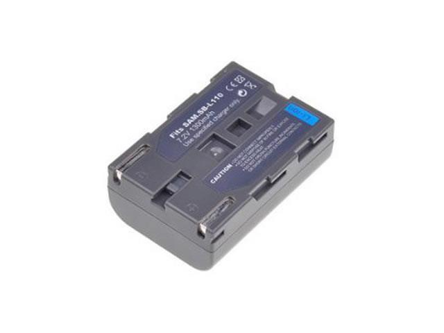 Battpit: Camcorder Battery Replacement for Samsung VP-D10 (1300 mAh) SBL-110 7.2 Volt Li-ion Camcorder Battery