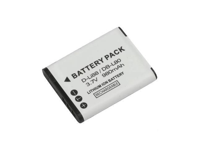 Battpit: Camcorder Battery Replacement for Sanyo Xacti DMX-CG11D (700 mAh) DB-L80 3.7 Volt Li-ion Camcorder Battery