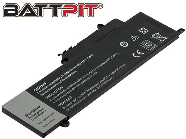 BattPit: Laptop Battery Replacement for Dell GK5KY 04K8YH 451-BBKK 4K8YH 92NCT CK5KY RHN1C Inspiron 13 7353