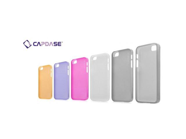 Capdase Soft Jacket Lamina 0.75mm Ultra Thin Case Cover for Apple iPhone 5
