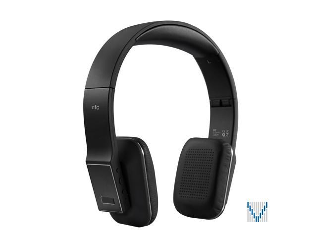 Voxoa Inc VXH330 Bluetooth HD Wireless Stereo Over-Ear Headphones - Black