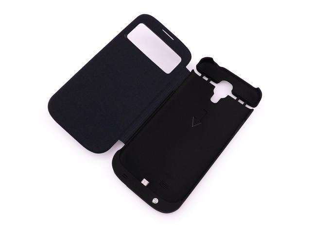 Power case 3200mah External Battery Power Bank Flip Cover Case For Samsung Galaxy S4 i9500
