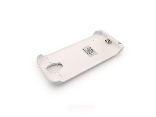 New 3200mAh Samsung Galaxy S5 Battery Backup Power Bank Charger Case - White